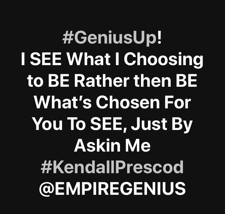 #GeniusUp #KendallPrescod #GeniusMan