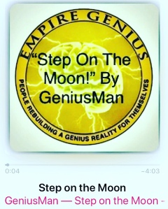 """Step On The Moon"" By GeniusMan! ListenNow @AppleMusic"