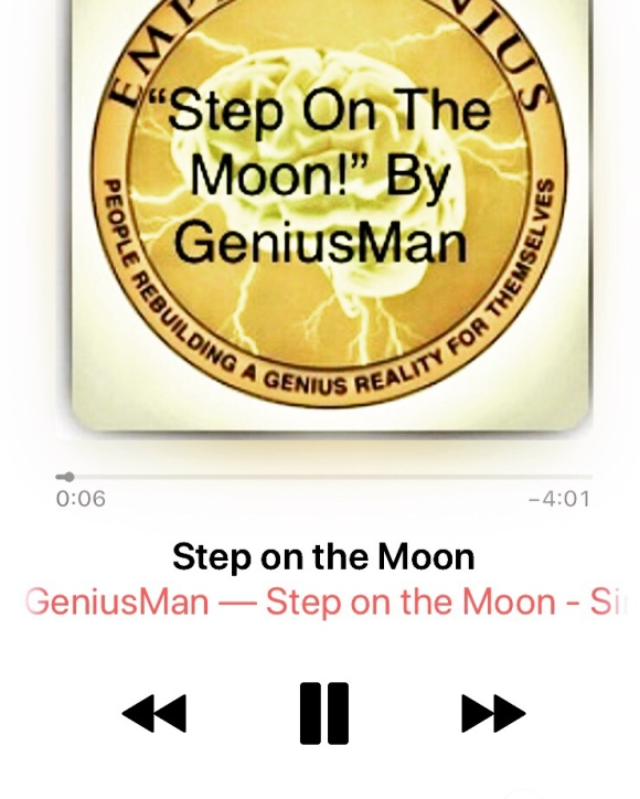 """Step On The Moon! By GeniusMan @AppleMusic"