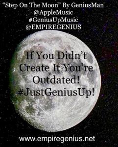 "@AppleMusic ""Step On The Moon"" By GeniusMan"