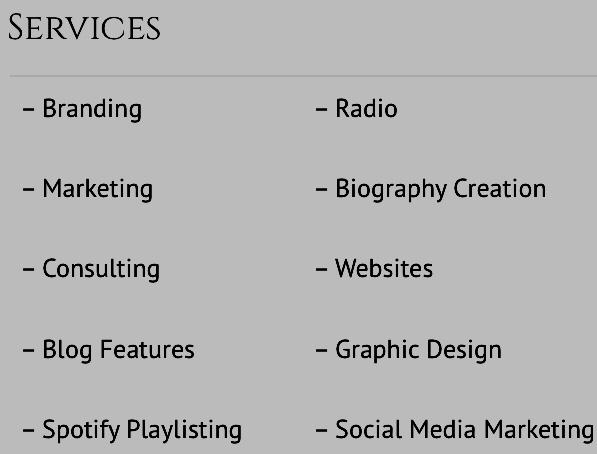 @EMPIREGENIUS Services Catalog