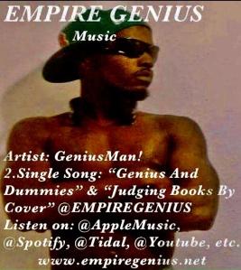 """Genius And Dummies"" By GeniusMan @AppleMusic"