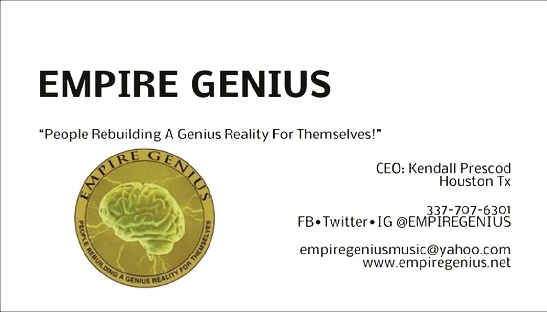 Contact Us! www.empiregenius.net
