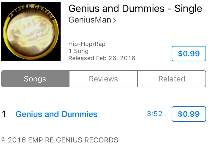 Music Artist: GeniusMan @AppleMusic