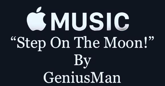 """Step On The Moon"" @AppleMusic"