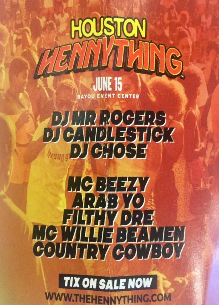 Houston HennyThing  June 15 2019