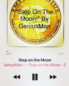 """""""Step On The Moon"""" By GeniusMan @AppleMusic #NowPlaying"""