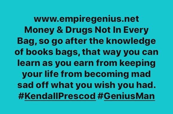 #GeniusUpDaily #EMPIREGENIUS #KendallPrescod