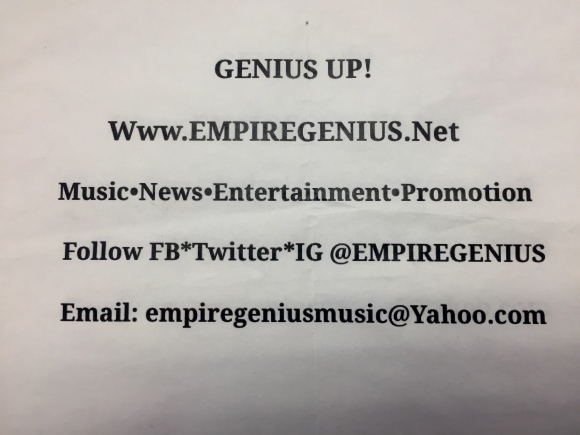 #GeniusUpDailyNews #KendallPrescod @empiregenius