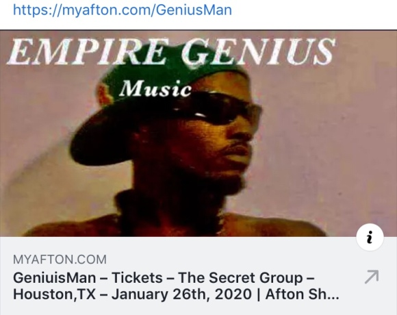 GeniusMan Performances show