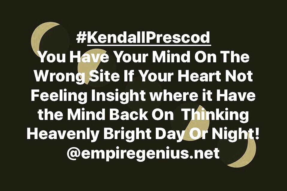 #KendallPrescod #GeniusMan #EMPIREGENIUS