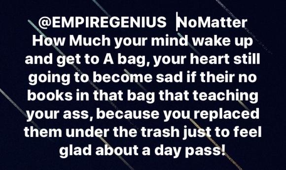 #GeniusUp @empiregenius #KendallPrescod