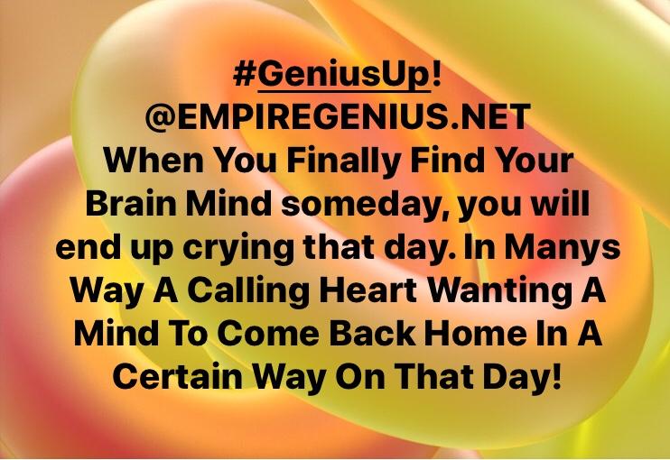 #GeniusUp! @empiregenius #KendallPrescod