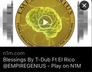 Blessings By T-Dub * El-Rico * Boobie